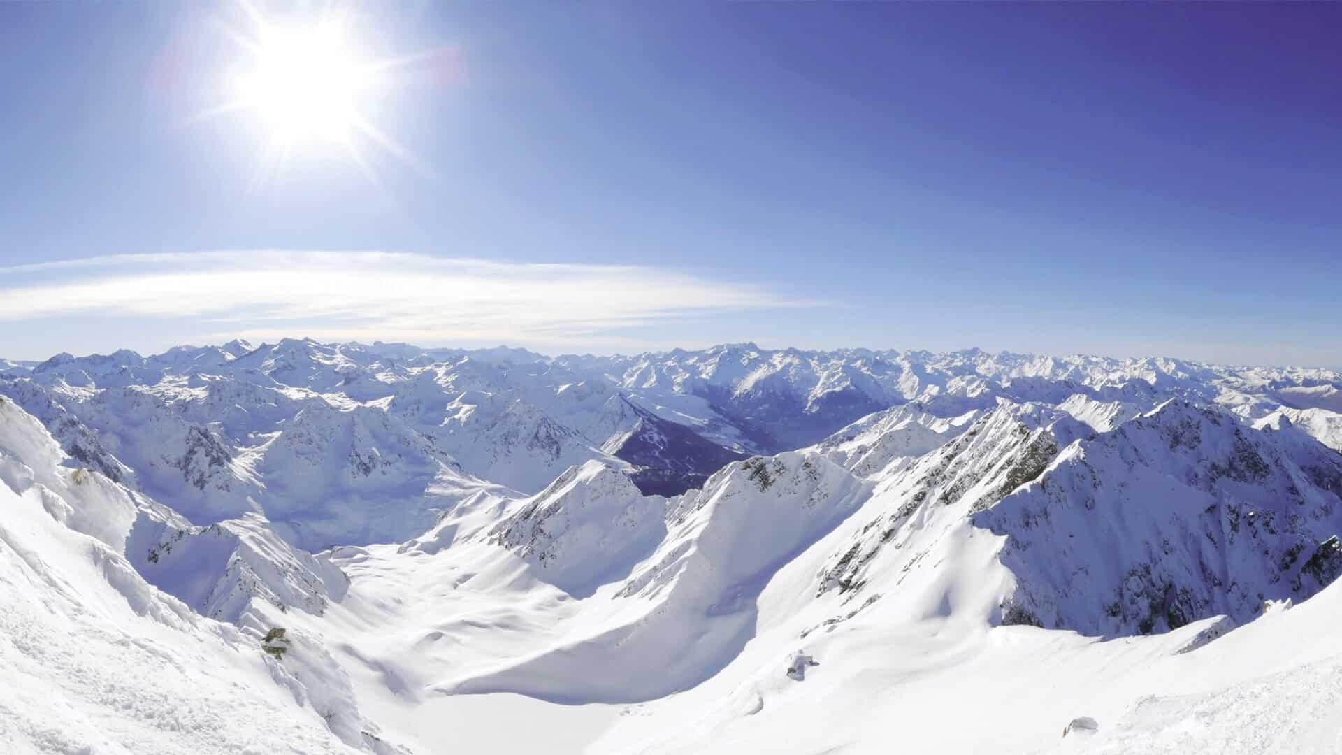 Vue depuis le Pic du Midi
