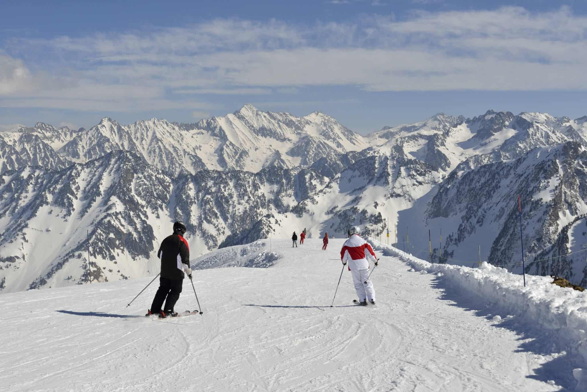 A Cauterets, le ski est panoramique depuis les pistes des crêtes