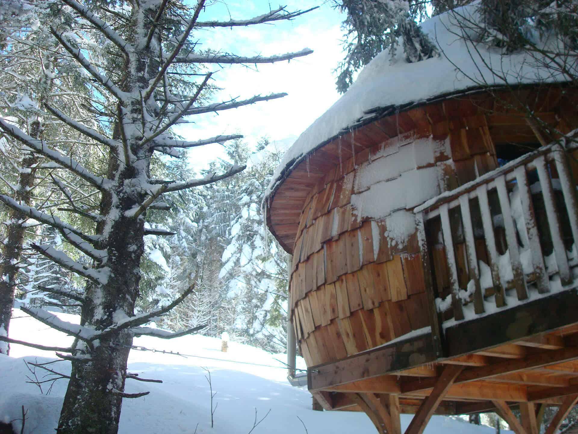 Cabanes perchées dans le Grand Tourmalet