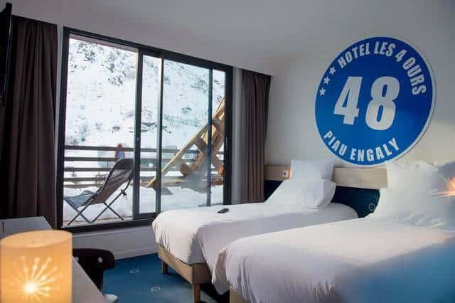 Votre hôtel en pied de pistes à Piau-Engaly