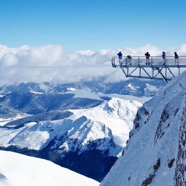 Ponton dans le ciel @Pic du Midi