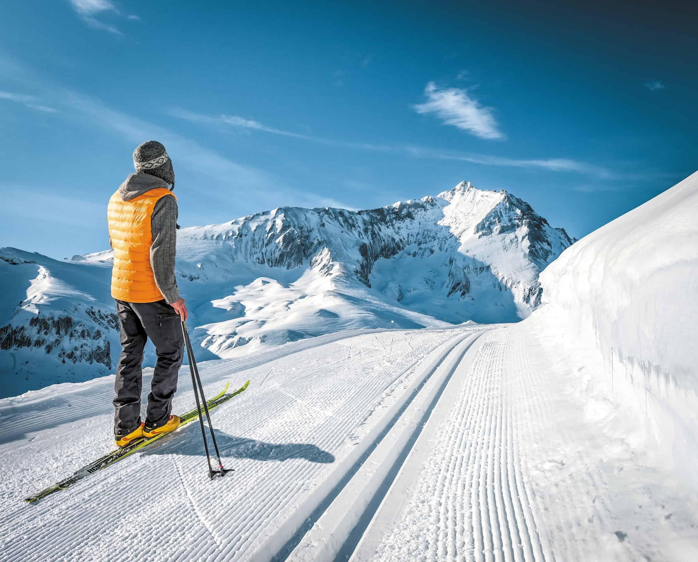 Ski de fond à l'Espace nordique du Val d'Azun